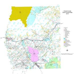 Road Department Grand County UT Official Website - Road map of utah