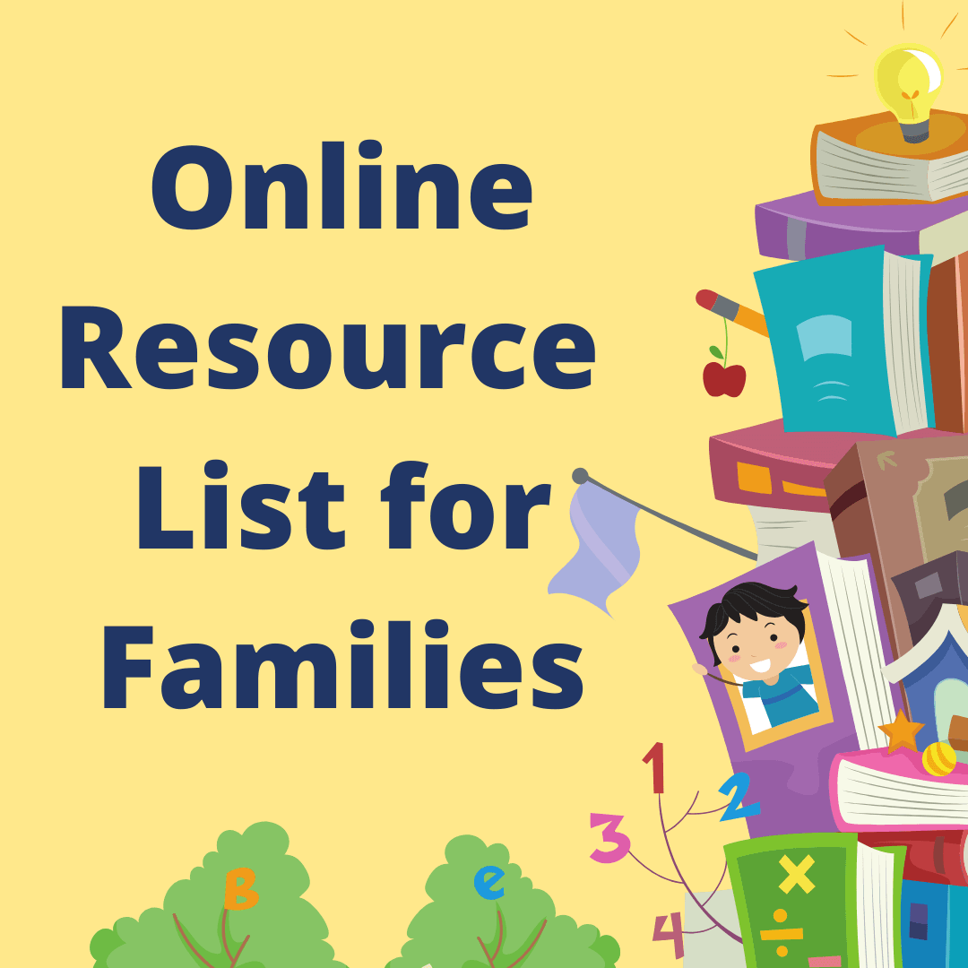 Resource List for Families