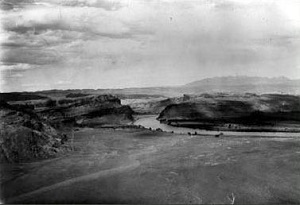Historic Image of Moab Tailings