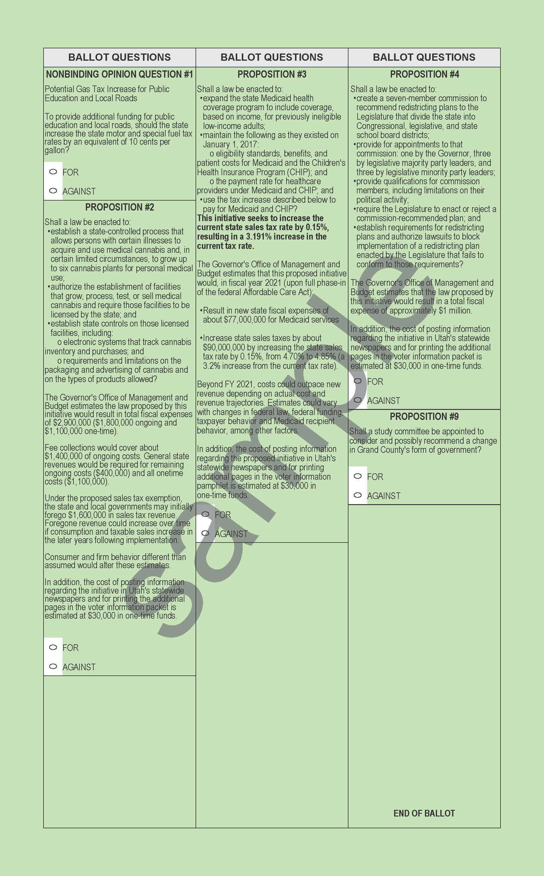 2018 GENERAL BALLOT- SAMPLE WATERMARK_Page_2