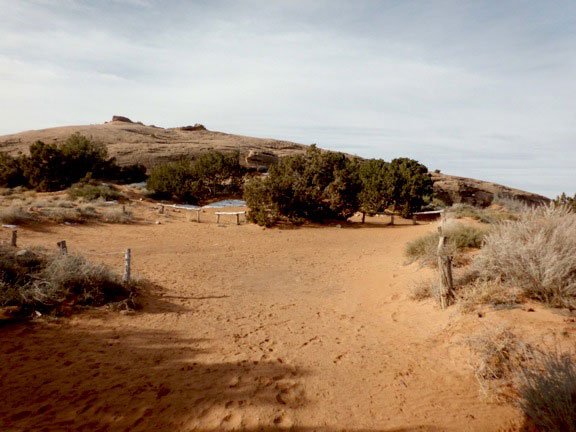 View of Campsite E1
